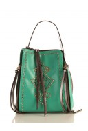 Yeşil Tonlarında Günlük Bayan Çanta